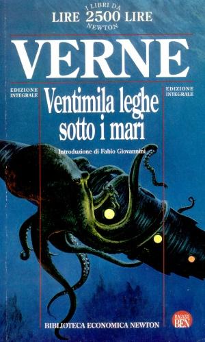 Copertina Ventimila leghe sotto i mari